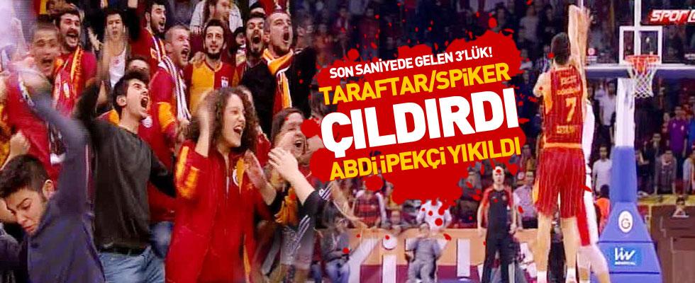 Abdi İpekçi'de yıllarca unutulmayacak maç