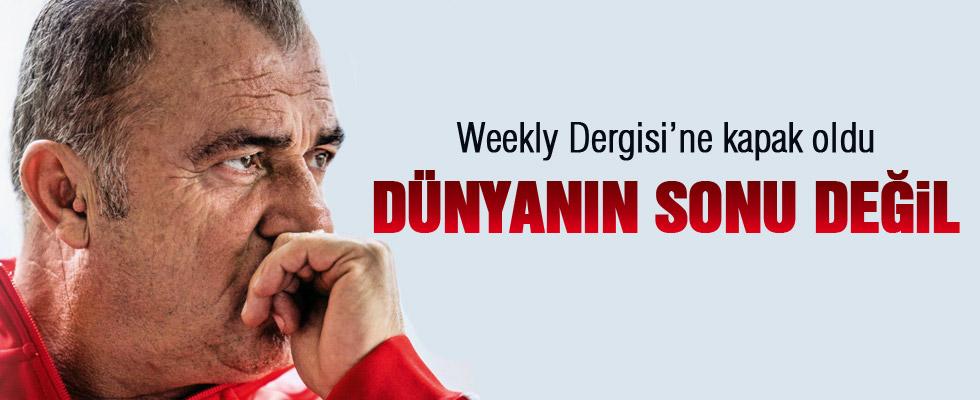 Fatih Terim Weekly Dergisi'ne kapak oldu