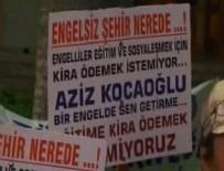 KİRA BORCU - İzmir Büyükşehir Belediyesi'nden Sakatlar Derneği'ne icra