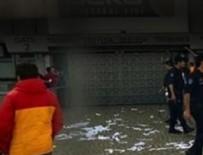 Sırp taraftarlar Galatasaraylılara saldırdı!