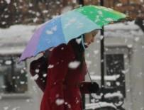 Kar yağışı etkisini gösterdi