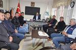 ZEKI ŞEN - Çesob'dan Kargı Belediye Başkan Şen'e Ziyaret