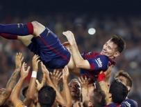Messi tarih yazdı