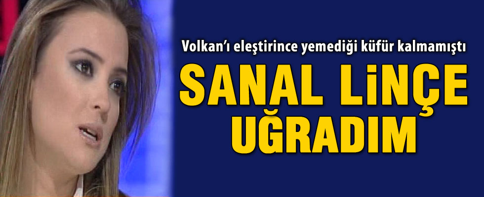 Simge Fıstıkoğlu'ndan 'Volkan Demirel' açıklaması