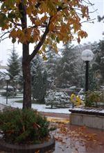 Burdur'a 30 Yıl Sonra Kasım Ayında Kar Yağdı