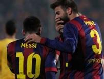 Messi rekor kırdı! Barca 4'ledi