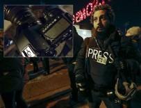 ABD polisi AA muhabirini tehdit etti