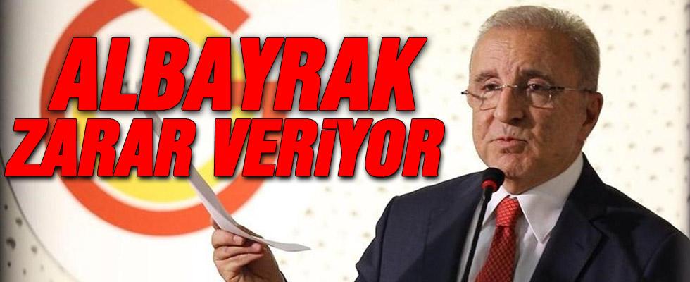 Aysal Albayrak'ı bombaladı