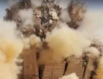 IŞİD Türbe ve mezarları  havaya uçurdu!