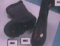 İşte zehirli ayakkabıların fotoğrafları