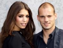 Wesley Sneijder'in eşi hamile