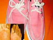 Zehirli ayakkabıların ilk kurbanı o mu?