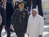 Papa'dan Anıtkabir'de sürpriz ziyaret