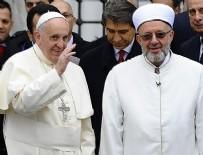 Papa'nın ilk ziyareti Sultanahmet'e