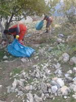 Büyükşehir Belediyesi Eğil Kalesi ve Çöplük Alanları Temizledi