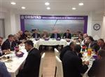 İhsan Şener Orsiyad Toplantısına Katıldı