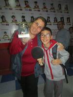 İBRAHIM ÖZ - Başarı Koleji Velileri Masa Tenisinde Yarıştı