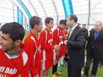 Mazıdağı'da Halı Saha Futbol Turnuvası Düzenlendi