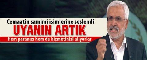 Mustafa Kaplan: Yapının tepesindekiler taşeron
