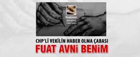 CHP'li Tanal: Fuat Avni benim