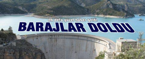 İstanbul'da barajlar yarı yarıya doldu