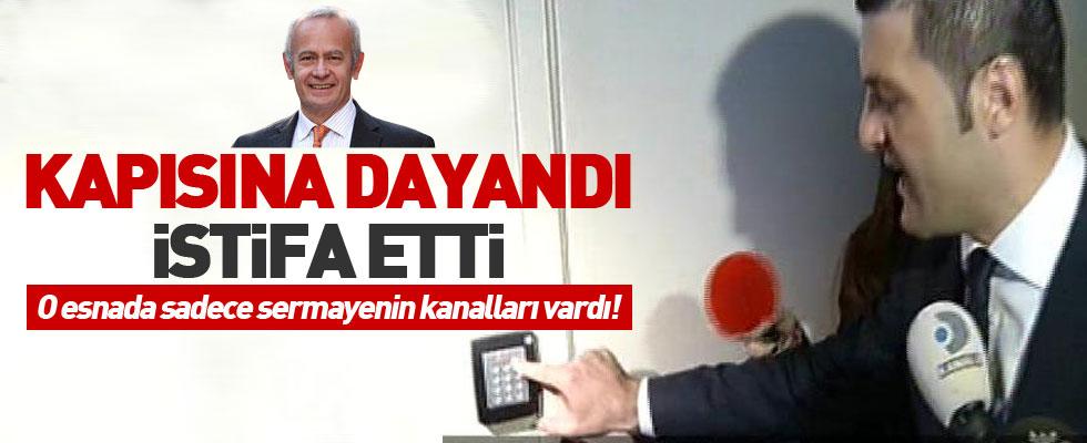Emir Sarıgül Şişli'deki görevinden istifa etti