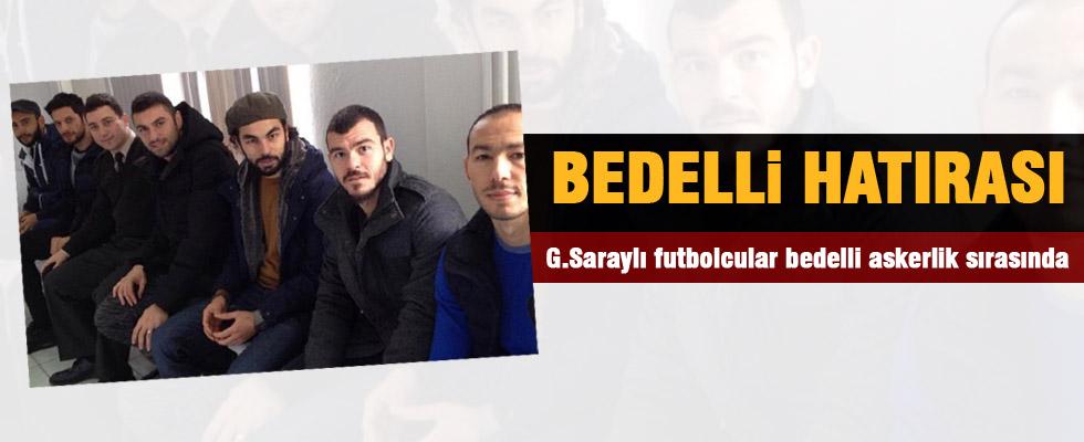 Galatasaraylı futbolculardan bedelli hatırası