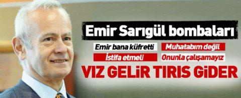 Hayri İnönü: Emir küfretti... Beni tehdit eden Mustafa Sarıgül