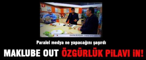 Maklube out Özgürlük Pilavı in!