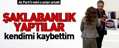 Meclis kürsüsüne yürüyen Ak Partili Gülçin Enç  o anları anlattı