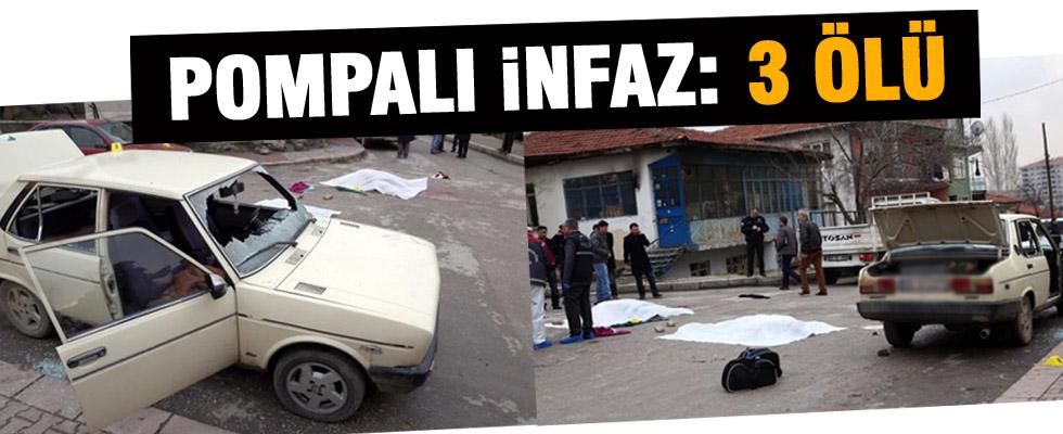Sokak ortasında infaz: 3 ölü