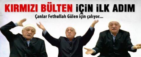 Fethullah Gülen için kırmızı bülten gündemde