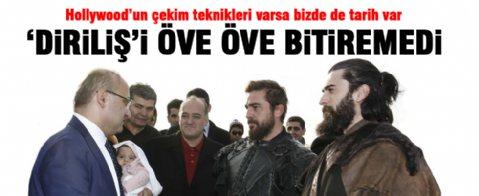 Yalçın Akdoğan'dan 'Diriliş' dizisine ziyaret
