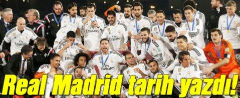 Real Madrid tarih yazdı! Dünyanın en büyüğü