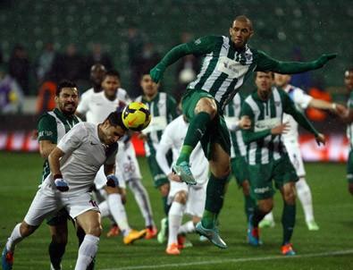 Bursa'dan 6 gol çıktı