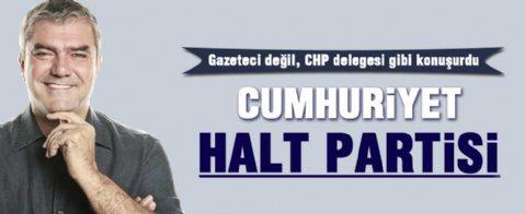 Yılmaz Özdil CHP'ye 'Halt Partisi' dedi