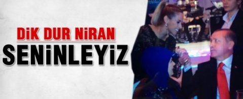 Cumhurbaşkanı Erdoğan'dan Niran Ünsal'a: Dik duruşunu bozma