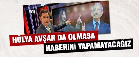 Fatih Portakal'dan CHP'ye Hülya Avşarlı gönderme