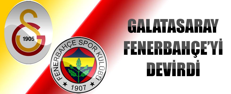 Galatasaray Ezeli rakibi Fenerbahçe'yi mağlup etti