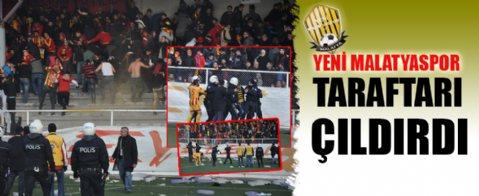 Keçiörengücü Yeni Malatyaspor karşılaşmasında olaylar çıktı