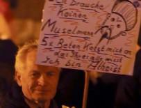 İSLAM KARŞITI - Almanya'da İslam karşıtı gösteriler...