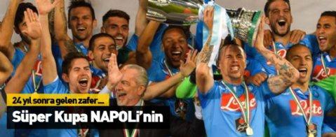 İtalya Süper Kupası Napoli'nin oldu