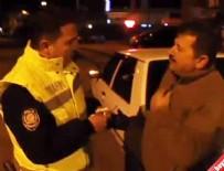 ALKOLLÜ ŞOFÖR - Alkollü Sürücü'den Polise 'Mutlu Oldun Mu?'
