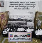Erzincan'Da 19 Bin 480 Paket Kaçak Sigara Ele Geçirildi