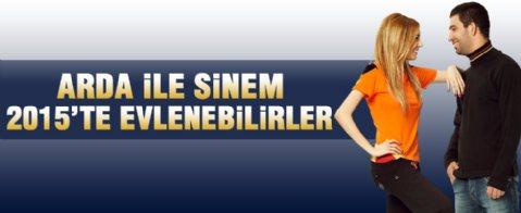 'Arda Turan ile Sinem Kobal 2015'te evlenebilir'