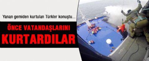 Türk yolcudan şok sözler