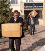 Kızılay'dan Kadışehrili Öğrencilere Giysi Yardımı