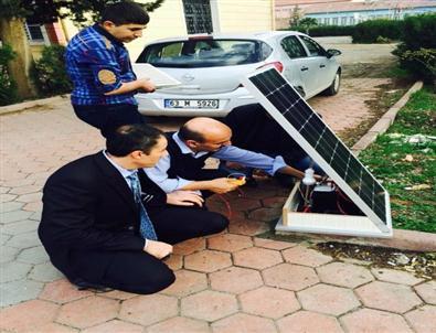 Mardinli öğrenciler elektrik ürettiler