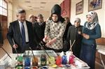 EBRU SANATı - Yozgat Belediye Gençlik Merkezinde Ebru Sanatı Kursu Açıldı