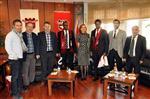 MEHMET ALİ ÇELİK - Ruanda Büyükelçisi Gaziantepspor'u Ziyaret Etti